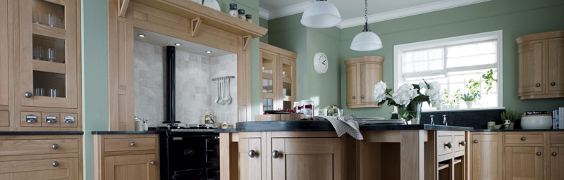 The Milton range at Kitcheners of Hereford