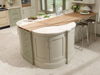 Solid Timber Kitchen Work Surface Example