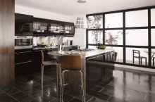 avant kitchen black
