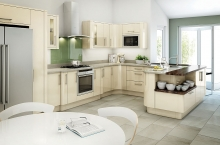 avant kitchen contemporary ivory