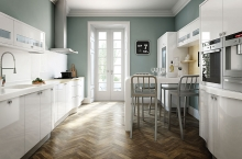 avant kitchen contemporary white