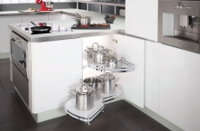 Kitchen Storage and Pullouts at Kitcheners of Hereford