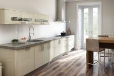 avant kitchen contemporary almond