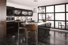 avant kitchen black