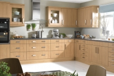 Flaxley Lancaster Oak Kitchen at Kitcheners of Hereford