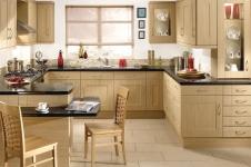 Sentia Ferrara Oak Kitchen at Kitcheners of Hereford