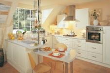 Decor Cream Kitchen at Kitcheners of Hereford