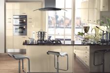 Image Gloss Cream Kitchen at Kitcheners of Hereford