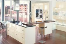 Gloss Cream Kitchen at Kitcheners of Hereford