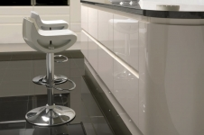 Integra Gloss Oyster Kitchen at Kitcheners of Hereford