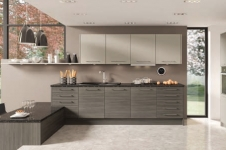 Avola Grey Brown with Stone Grey Kitchen at Kitcheners of Hereford