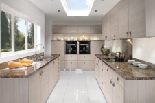 Avola White Kitchen at Kitcheners of Hereford