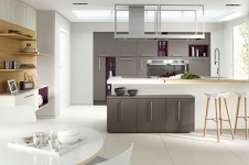 Inzo Contemporary Painted Kitchen at Kitcheners of Hereford