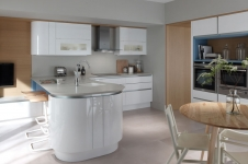 Tomba Contemporary Painted to Order Kitchen at Kitcheners of Hereford